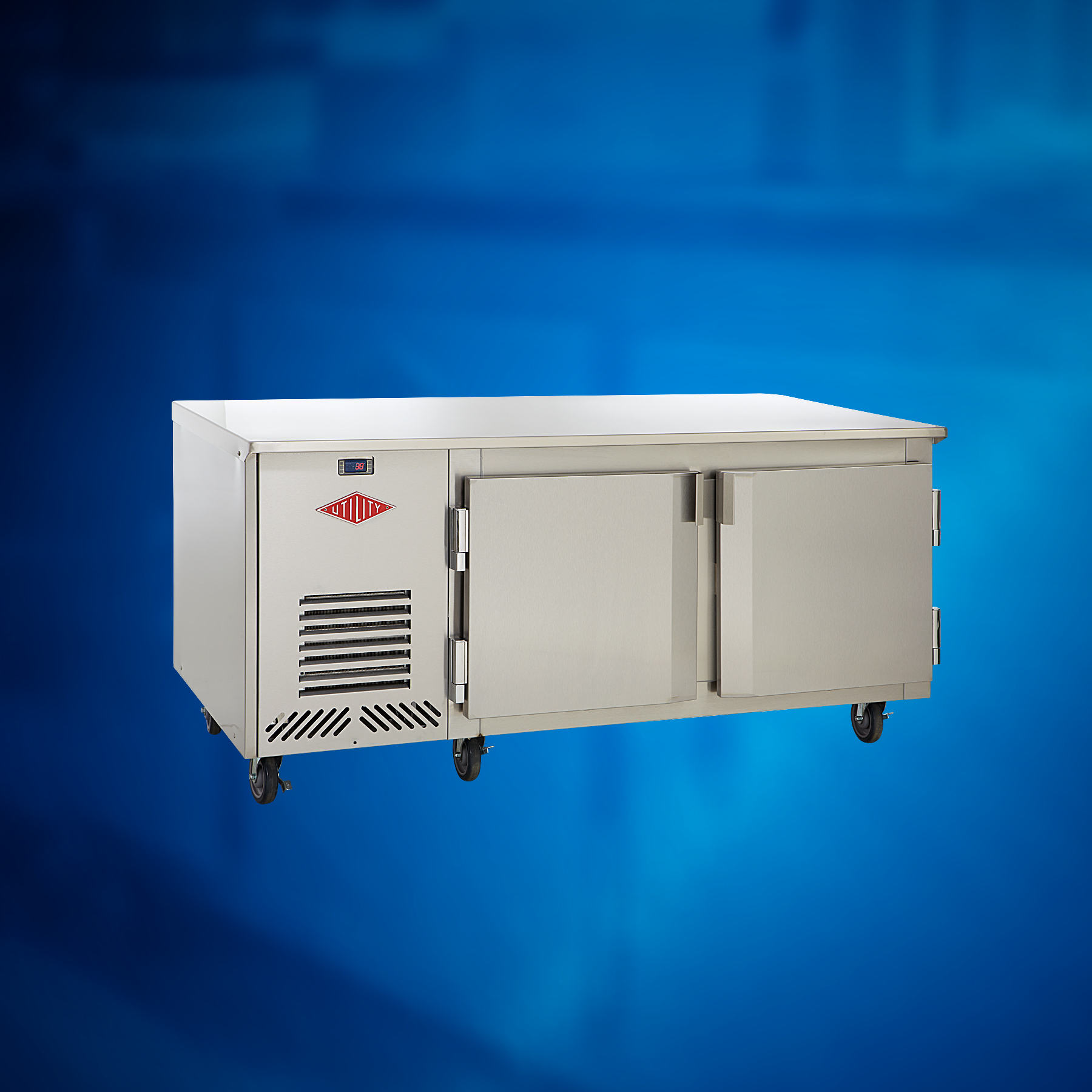 Counter High: Self-Contained Counter High Freezer